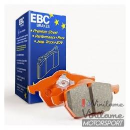 EBC OrangeStuff delanteras...