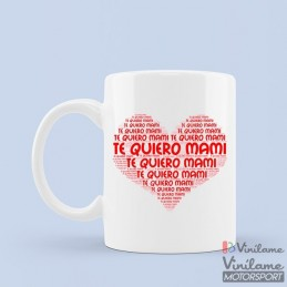 Taza Te quiero mami
