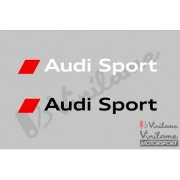Pegatina Audi Sport