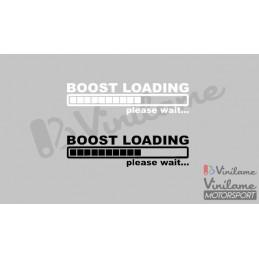 Pegatina Boost Loading