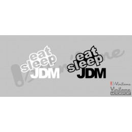 Pegatina Eat Sleep JDM