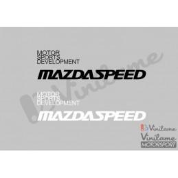 Pegatina Mazdaspeed