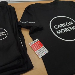 Seguimos estampando camisetas 💪  #vinilame #ropapersonalizada #ropalaboral #imprentamallorca #imprentainca #ropamallorca