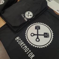 Ropa lista para los cracks de @coremotor 🔝  #vinilame #coremotor #ropalaboral #ropapersonalizada #camisetaspersonalizadas #estampaciontextil