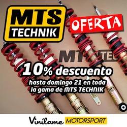 Aprovéchate ésta semana del 10% de descuento en toda la gama de MTS Technik 😃  #vinilamemotorsport #vinilame #mtstechnik