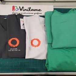 Casacas y batas listas para @ridentclinica 😁  #vinilame #ropalaboral #ropapersonalizada