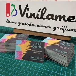Tarjetas de visita para profesionales y negocios en todo tipo de formatos y tamaños  #vinilame #tarjetasdevisita #tarjetaspersonalizadas