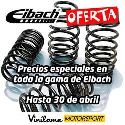 Precios especiales hasta el 30 de abril en toda la gama de Eibach que no es poca! 😊  #vinilamemotorsport #vinilame #eibach