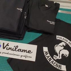Entregamos camisetas para los chic@s del Palacio del pollo! 🤤  #vinilame #camisetaspersonalizadas #ropalaboral #ropapersonalizada